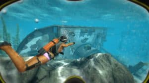 How Diving Influenced a Underwater Computer Game